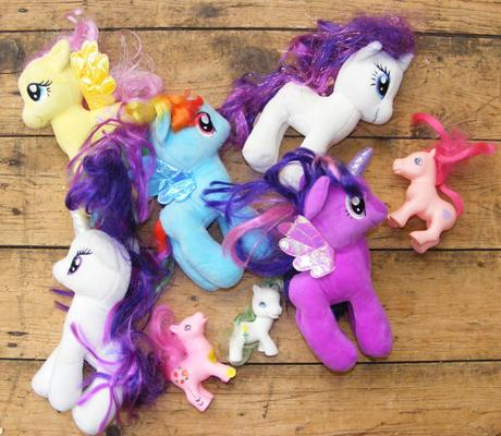 My Little Pony soft toy lot