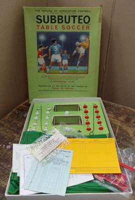 Subbuteo continental club edition table soccer-complete