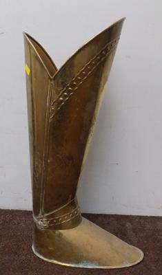 Brass boot stick stand