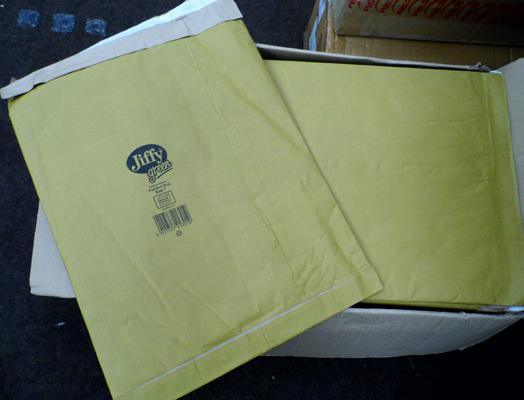 Box of 50, size 7, Jiffy envelopes