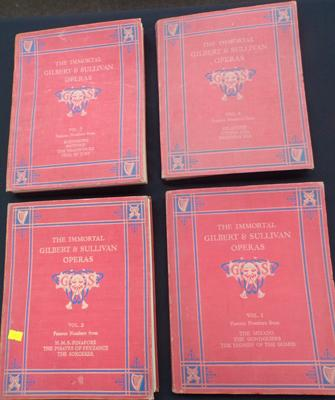 Volumes 1 - 4 of Gilbert & Sullivan operas