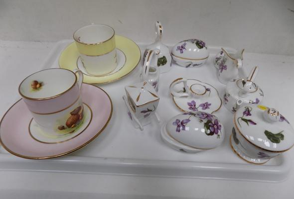 Selection of Hammersley, incl. 2 x tea cups
