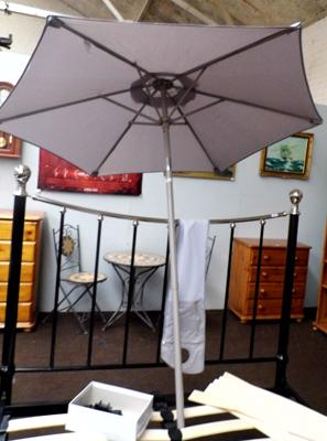 New tilt top parasol in bag