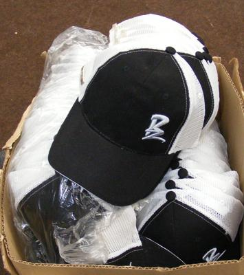 Box of approx. 50 Ballaz baseball caps