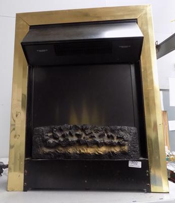 Focal Point electric fire, 9000 - W/O