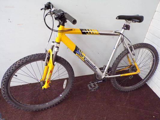Baracuda gent's mountain bike, front suspension, 24 gears