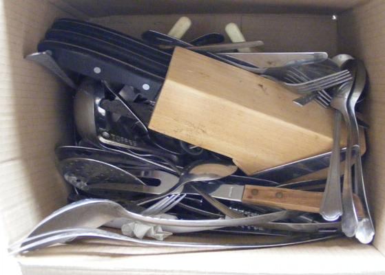 Box of cutlery