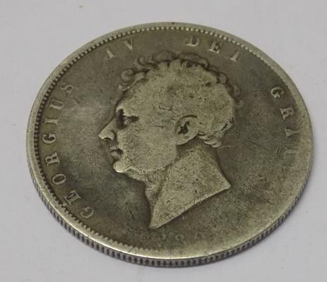 George VI -  silver Half Crown coin