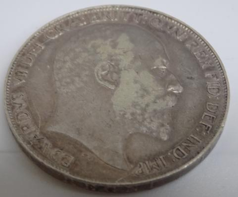 1902 Edward VII - silver Crown coin