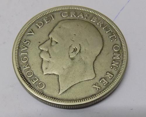 1930 George V - silver Wreath Crown coin