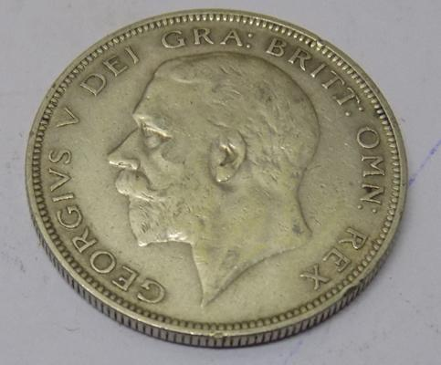 1934 George V - Half Crown coin