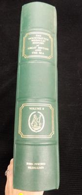 Mountbatten medallic history of Great Britain & The Sea-volume II coin book - empty