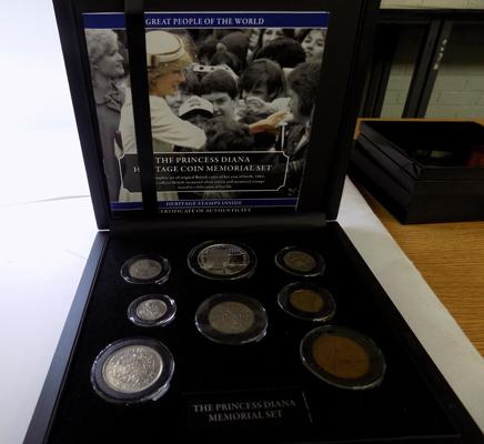 Princess Diana Memorial coin Set