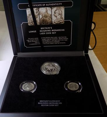 Silver Monarchs coin set