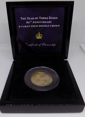 Three Kings 9ct Gold coin
