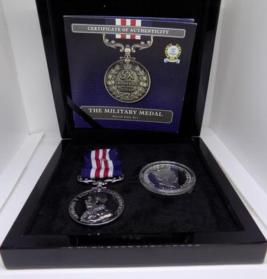 Military Medal & Coin Set