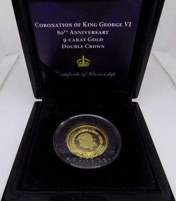 King George VI 9ct Gold coin