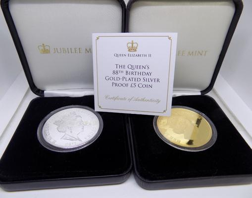 2 Jubilee Mint coin sets