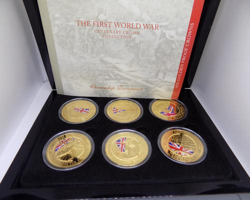 First World War Centenary Crown Collection