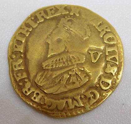 King Charles I Gold Crown coin