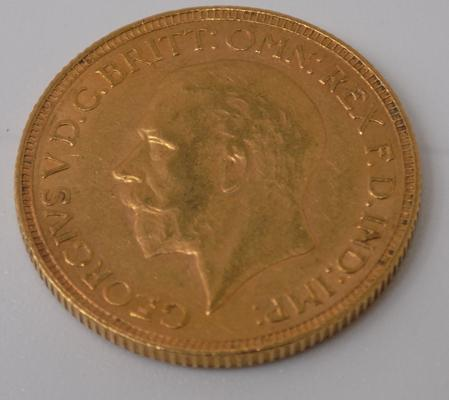 1929 22ct Full Sovereign