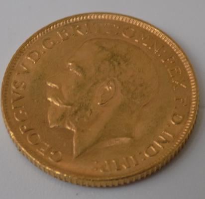 1918 22ct Full Sovereign