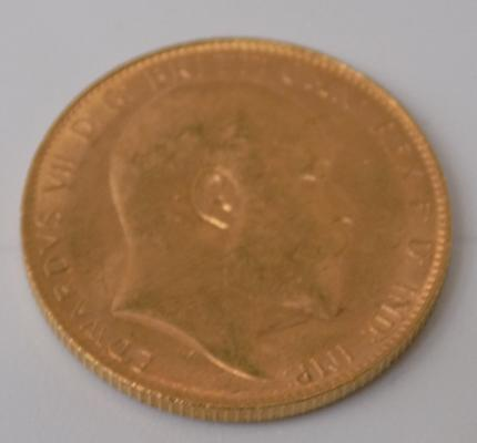 1907 22ct Full Sovereign