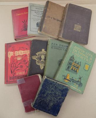 10 collector books, incl. Spiritualist, Freemason etc...