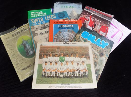 Good selection of football programmes 1970's