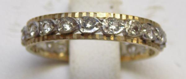 9ct full eternity ring