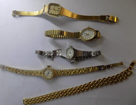 Selection of vintage ladies watches