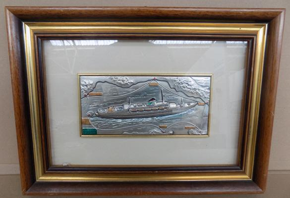Sterling silver boat picture