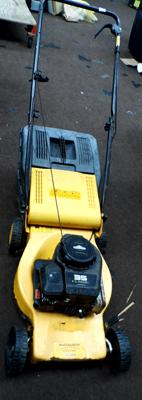 McCulloch petrol mower & grass box w/o