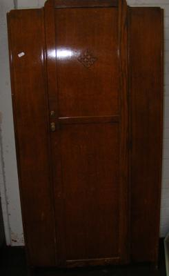 Art Deco single wardrobe