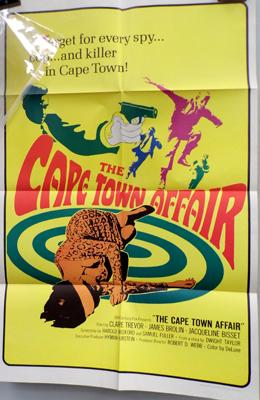 1967, one sheet poster 'Cape Town Affair'