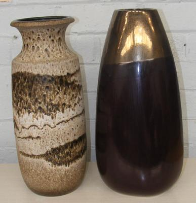 Two large vases, incl.West German Scheurich