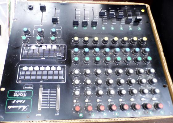 Mosfet Studio 8/2 Powered mixer deck 100W