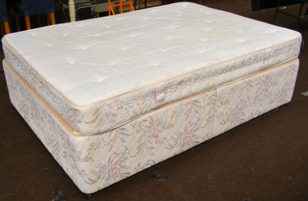 Harrison double divan bed & mattress