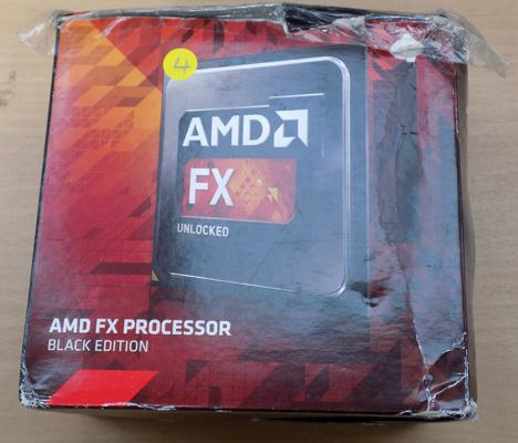 AMD FX-8350 4GHZ 8 core CPU
