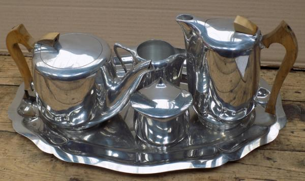 Picquot ware tea and coffee set