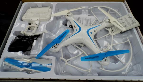 Sky Drone Pro U2 - as found