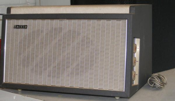 Vintage Hacker amplifier loud speaker