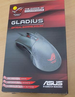 Asus Gladius optical gaming mouse rrp £99.99