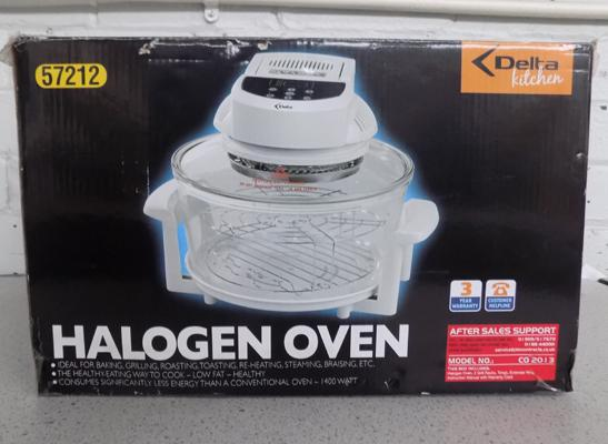 Delta kitchen halogen oven - W/O, unused