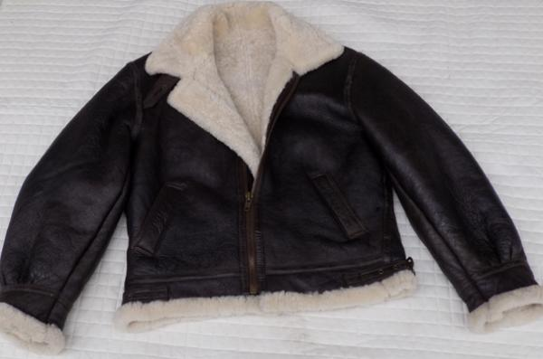 Vintage real sheepskin RAF flying jacket size large rrp £400