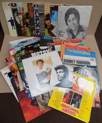 Good selection of LP's inc Beatles, John Lennon & signed David Laine