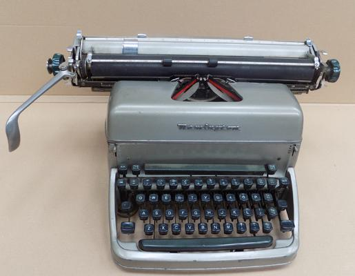 Vintage Remington Quiet Type typewriter, circa 1950's