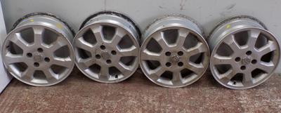 4x Alloy wheels from Vauxhall
