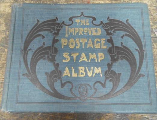Early 20th Century improved stamps, album with contents
