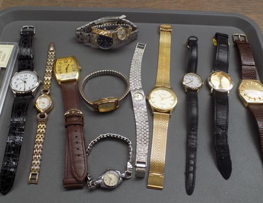 12 watches and one strap
